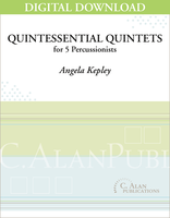 Quintessential Quintets - Angela Kepley [DIGITAL SCORE]