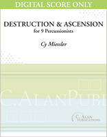 Destruction & Ascension - Cy Miessler [DIGITAL SCORE]