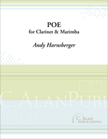 Poe (Duet for Clarinet & Marimba)