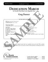 Dedication March (4-Part Flex Gr. 2)