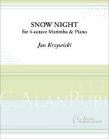 Snow Night (Marimba/Piano Duet)