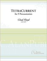 TetraCurrent (percussion ensemble 9)