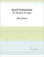 Kleptomania (duet for marimba & cajón)