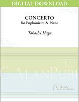 Concerto for Euphonium & Piano - Takashi Haga [DIGITAL]