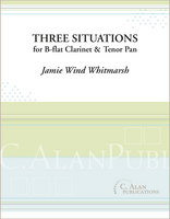 Three Situations (Duet for B-flat Clarinet & Tenor Pan)
