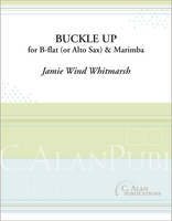 Buckle Up (Duet for Clarinet or Alto Sax & Marimba)