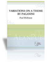 Variations on a Theme by Paganini (Solo 4-Mallet Marimba)