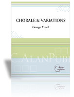 Chorale & Variations (Solo 4-Mallet Marimba)