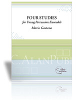 Four Studies for Young Percussion Ensemble (Perc Ens 4)