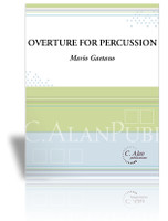 Overture for Percussion (Perc Ens 9)