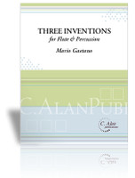 Three Inventions for Flute & Percussion