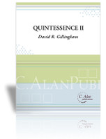 Quintessence II (piano reduction) (Brass Quintet, Percussion & Piano)