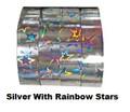 RIZUMI Hoop Tape (Sliver Rainbow Stars)