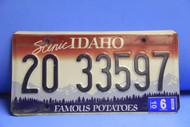 2006 IDAHO ScenicFamous Potatoes License Plate 20 33597