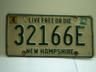 1987 NEW HAMPHIRE Live free or Die License Plate 32166E