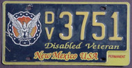 New Mexico Disabled Veteran Perm 1