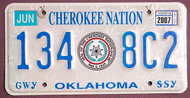 Oklahoma Cherokee Nation 2007