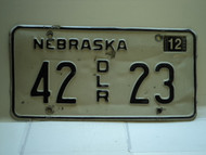 2004 NEBRASKA Dealer License Plate 42 DLR 23