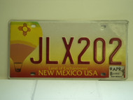 2008 NEW MEXICO Land Of Enchantment License Plate JLX202