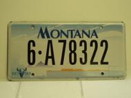 2010 MONTANA Treasure State License Plate 6 A78322