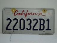 CALIFORNIA Lipstick License Plate 22032B1