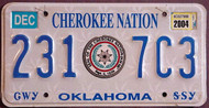 Oklahoma Cherokee Nation 2004