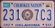 Oklahoma Cherokee Nation 2004