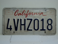 CALIFORNIA Lipstick License Plate 4VHZ018