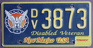 New Mexico Disabled Veteran Permanent