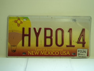 2009 NEW MEXICO Land Of Enchantment License Plate HYB014