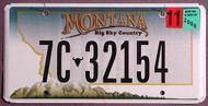Montana Map 2006 Flat 2