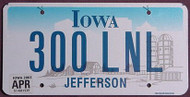 2011 COLORADO License Plate 023 UWS