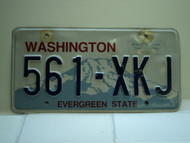 Washington Evergreen State License Plate 561 XKJ