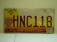 2006 NEW MEXICO Land Of Enchantment License Plate HNC118