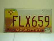 2004 NEW MEXICO Land Of Enchantment License Plate FLX659