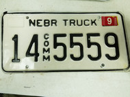 2005 Nebraska Adams County Commercial Truck License Plate 14 5559