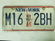 New York Statue of Liberty License Plate M16 2BH