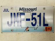 2014 Missouri Show Me State Bird License Plate JMF-51L