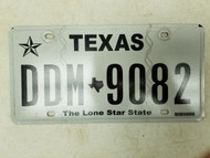 Texas Lone Star State License Plate DDM-9082