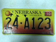 2005 Tag NEBRASKA Cuming County www . state . ne . us State Website License Plate 24-A123 Cool # Geese Sunset Cattails