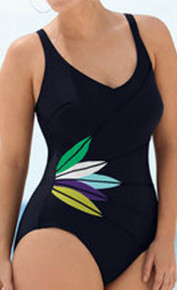 AN7277 Tassia Black One Piece Swimsuit by Anita