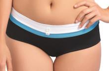 AS3222 Black Short Bikini