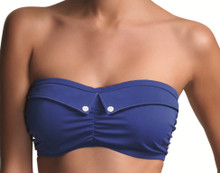 AS3329 Fever Blue Bandeau Bikini top by Freya