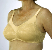 CL717 Beige Mastectomy Seamless Support Bra by Classique