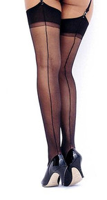 SH5026 Backseam Nylon Stockings by Shirley of Hollywood