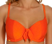 PA0120 Orange Bikini Top Rita by Panache