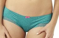 PA7732 Teal Juna Animal brief pantie Cleo by Panache