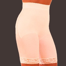 RG518X Beige High Waist Long Leg Panty Plus Size by Rago  Beige