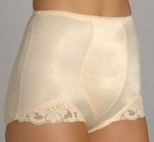 RG919 Basic High Cut Shaping Brief by Rago Beige