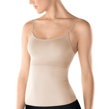 SP164 Nude/Black Hide & Sleek Adjustable Strap Camisole by Spanx